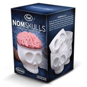 Fred Nomskulls Silicone Baking Cups (Set of 4)
